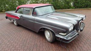 Oldtimer Restaurierung Ford Edsel